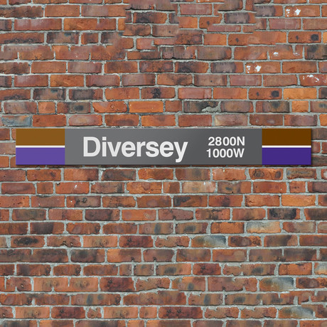 Diversey // Brown + Purple