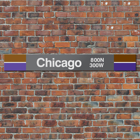 Chicago // Brown + Purple