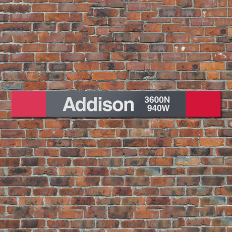 Addison // Red