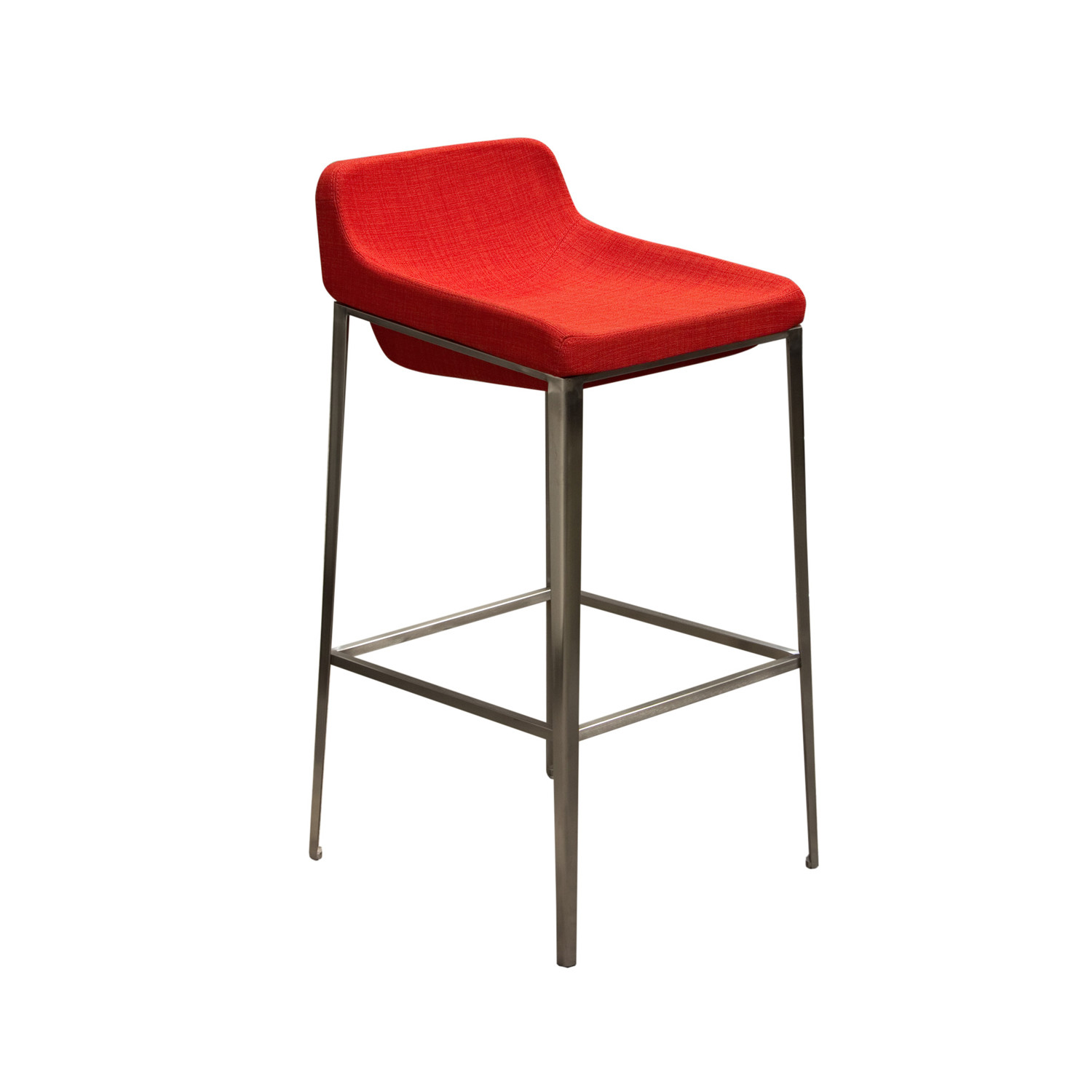 Contemporary Bar Stool Stainless Steel Base Gray  : 35b060e62355b991f06fedfcb4bf0b49large from www.touchofmodern.com size 1500 x 1500 jpeg 134kB