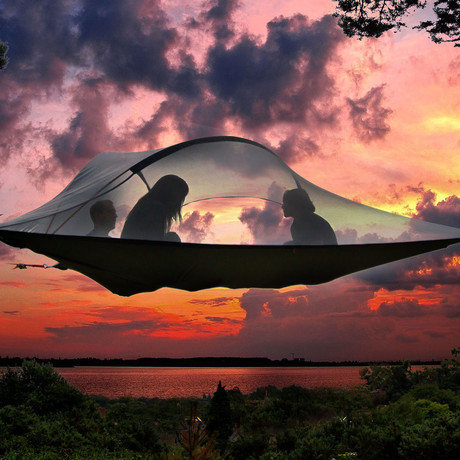 Tentsile // Stingray Tree Tent // Camouflage Flysheet (Orange)
