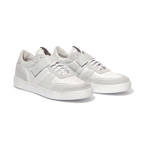 YLATI // Mercurio Sneakers // White Leather (Euro: 43)