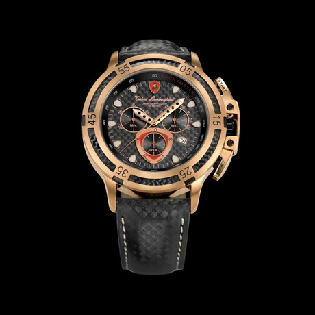 Lamborghini Herrenuhr Chronograph Wheels Quartz // 3990-6