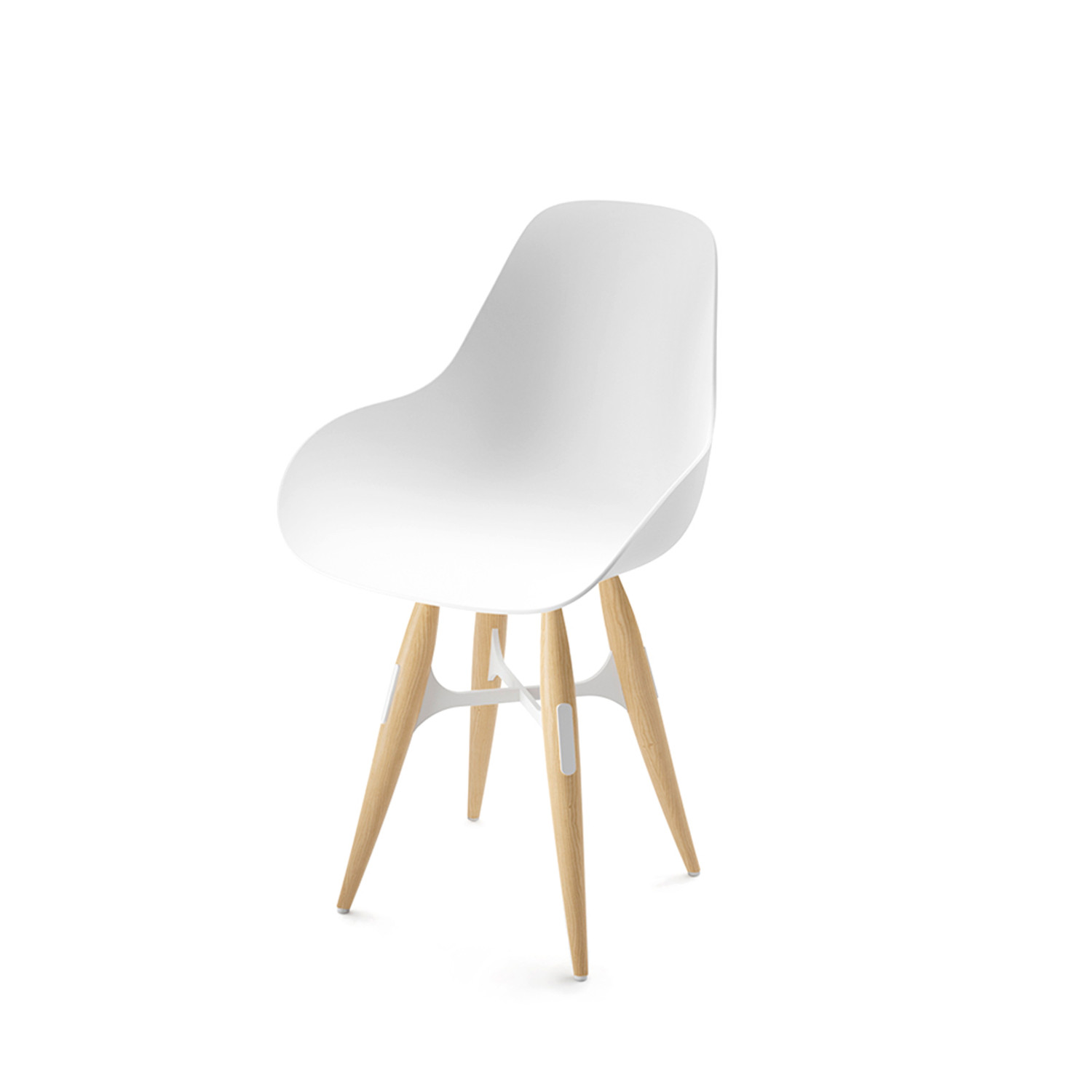 Sensational Zig Zag Dimple Chair White Kubikoff Touch Of Modern Ncnpc Chair Design For Home Ncnpcorg