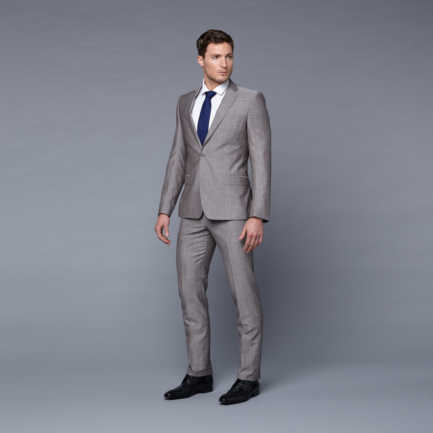 Versace Collection // Wool Two-Piece Suit // Light Grey (Euro: 48 ...