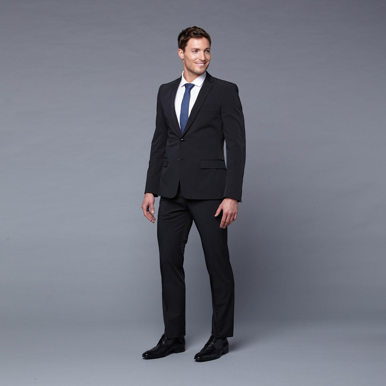 Versace Collection Rich Black Suit (Euro: 46) - Versace Collection ...