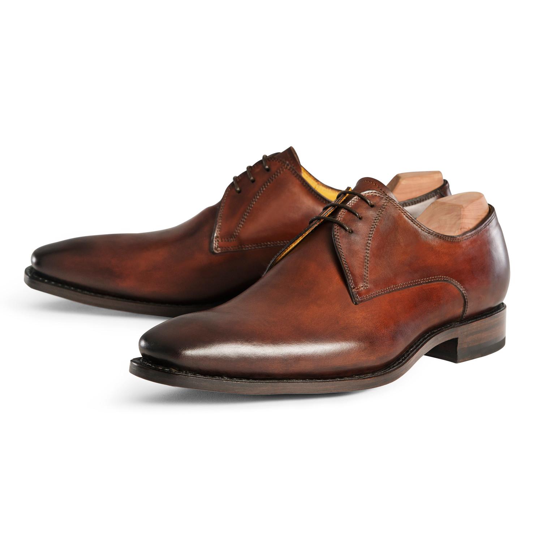 Plain Toe Derby // Brown (UK: 6.5