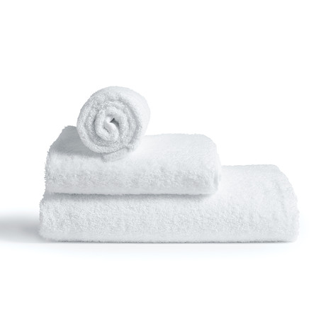 Towel // White (Small // Set of 2)