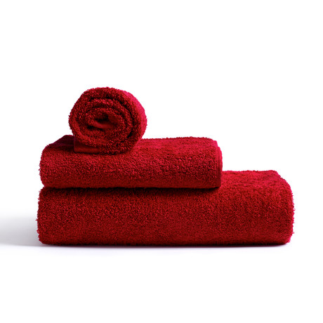 Towel // Red (Small // Set of 2)