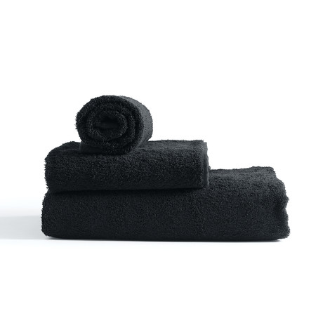 Towel // Black (Small // Set of 2)