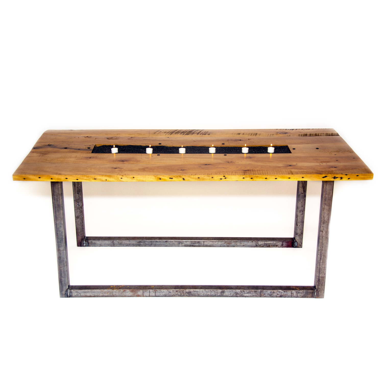 "Cigar Factories Table 48""L x 27""W x 17""H Daniel H Finney"