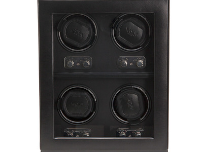 WOLF The Heritage Collection Winder // 4 Piece (Black) by Touch Of Modern - Denver Outlet