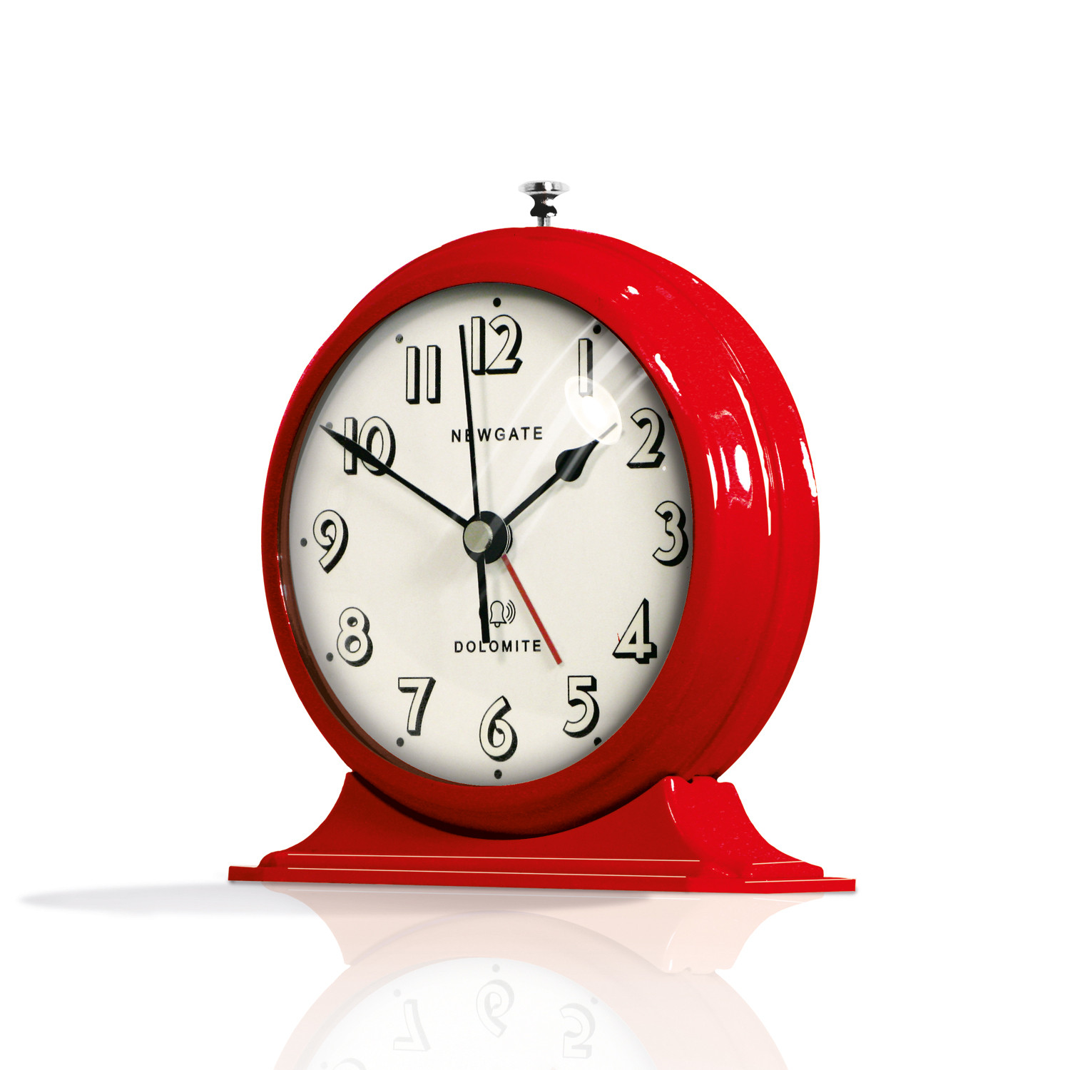 The dolomite clock red newgate clocks touch of modern for Touch of modern clock