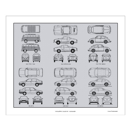 Volkswagen Blueprint Collection
