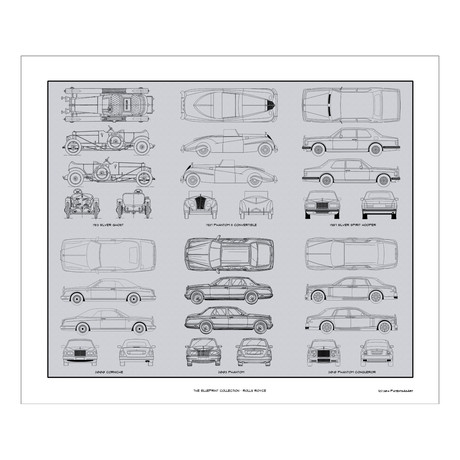 Rolls Royce Blueprint Collection