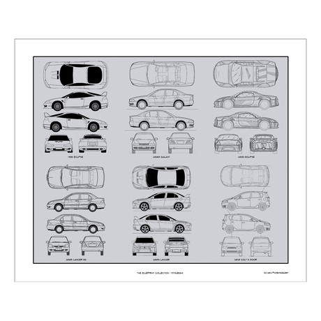 Mitsubishi Blueprint Collection