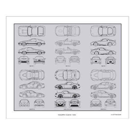Mazda Blueprint Collection