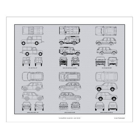 Land Rover Blueprint Collection