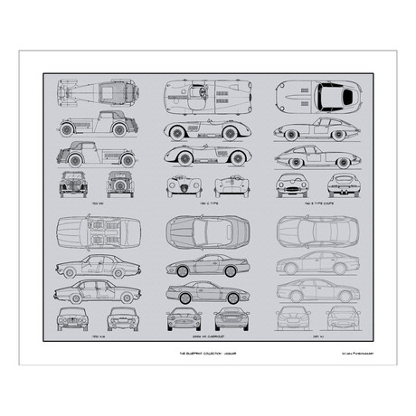 Jaguar Blueprint Collection