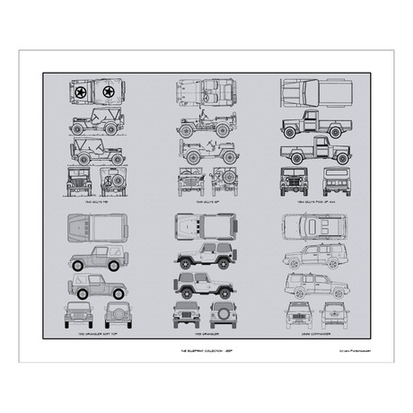 Jeep Blueprint Collection