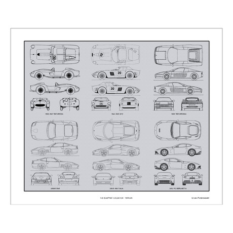 Ferrari Blueprint Collection