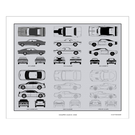 Dodge Blueprint Collection
