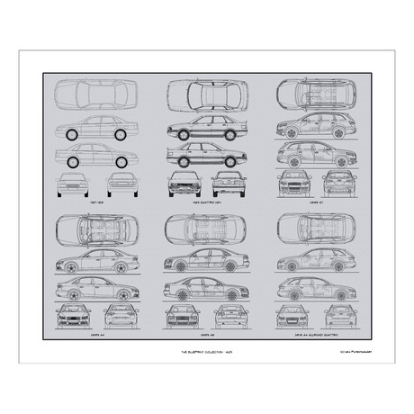 Audi Blueprint Collection