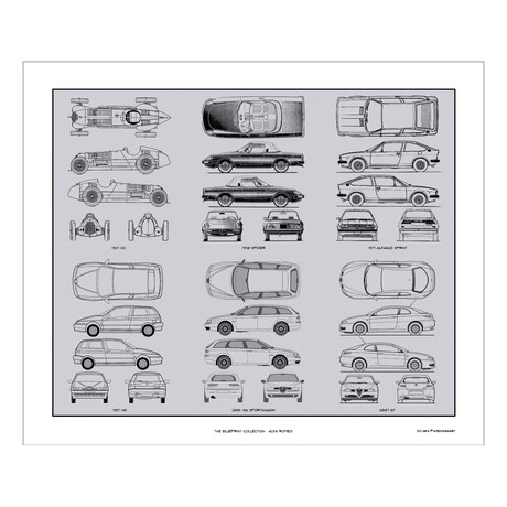Alfa Romeo Blueprint Collection