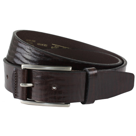 "Manton Belt // Brown (32"")"
