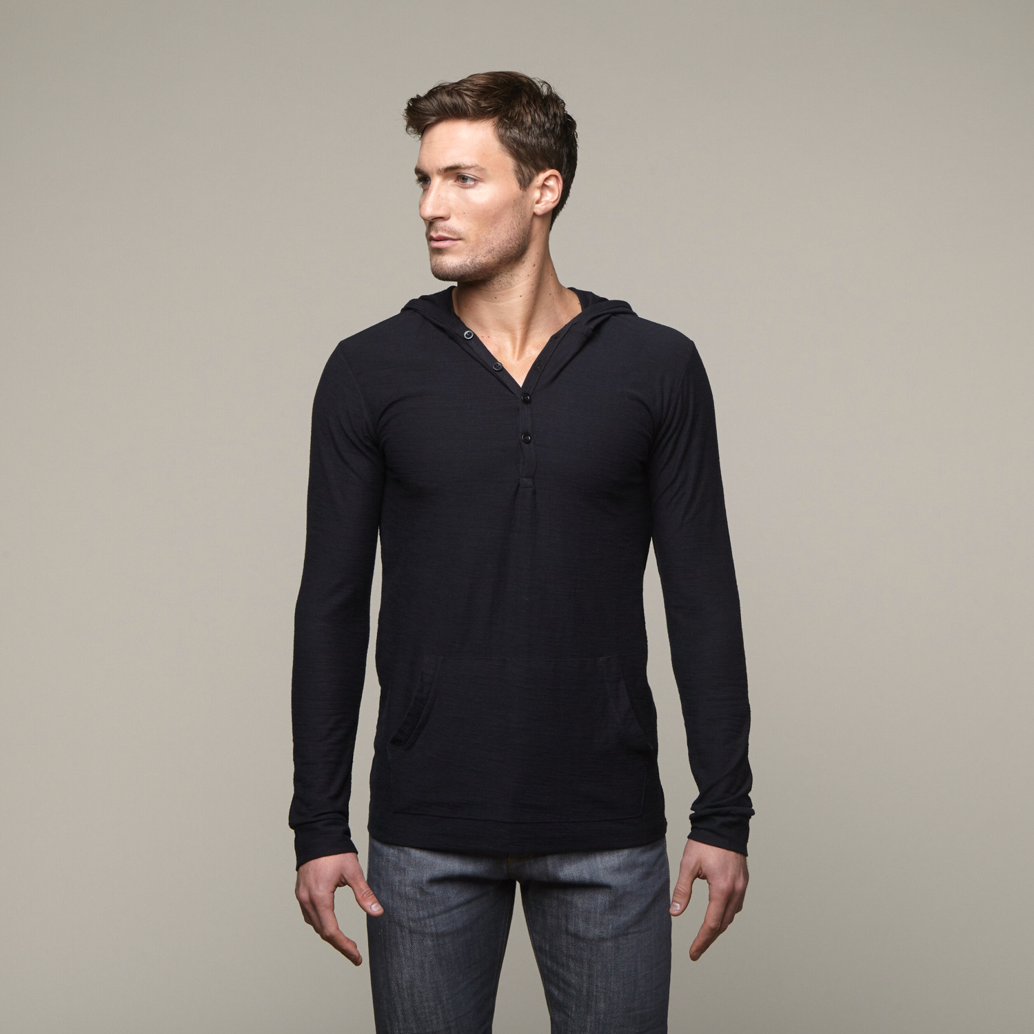 And henleys, with an added touch of delicate buttons, perfectly blend the tomboy and the femme. Soft, stylish and cozy, these long sleeve tops are just the burst of inspiration you need for layering in the fall and winter.