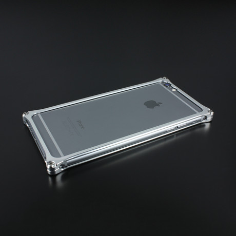 GILD Design Solid Bumper // Silver (iPhone 7)