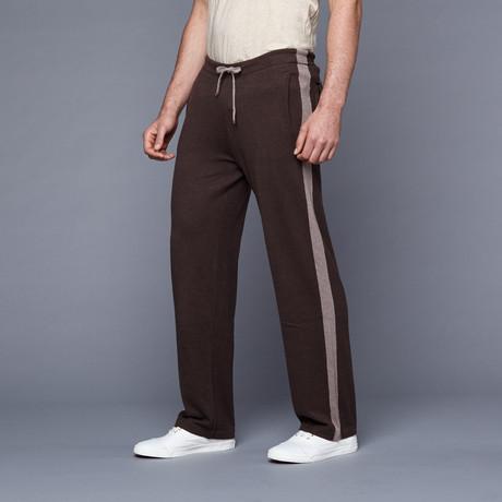 Loft 604 // Cashmere Blend Lounge Pants // Brown (S)