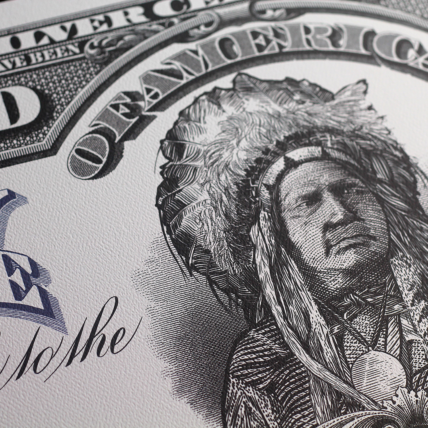 5 Dollar 1899 Silver Certificate The Chief Art Of Money Lost