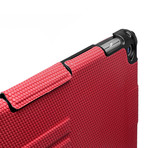 Touchfire // Ultimate iPad Case with Keyboard + Sound Booster // Red (iPad 2, 3, 4)