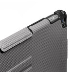 Touchfire // Ultimate iPad Case with Keyboard + Sound Booster // Gray (iPad 2, 3, 4)