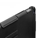 Touchfire // Ultimate iPad Case with Keyboard + Sound Booster // Black (iPad 2, 3, 4)