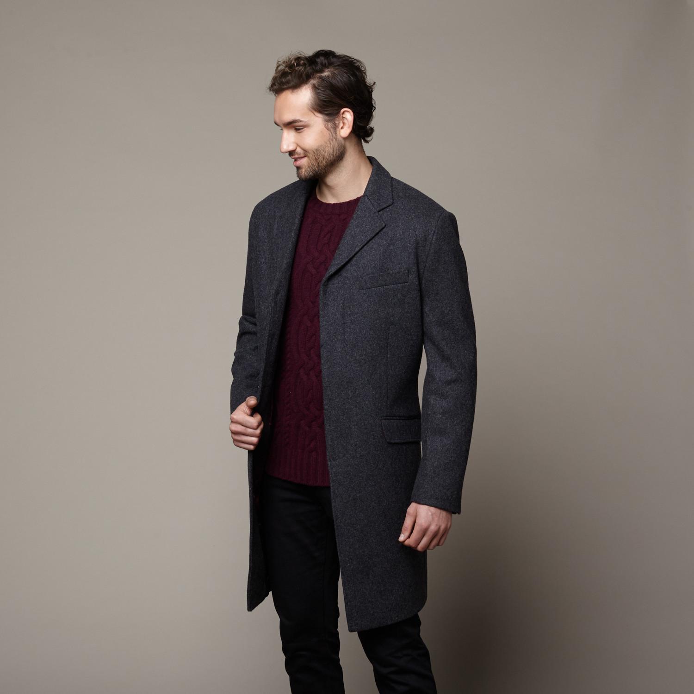 Charcoal overcoat