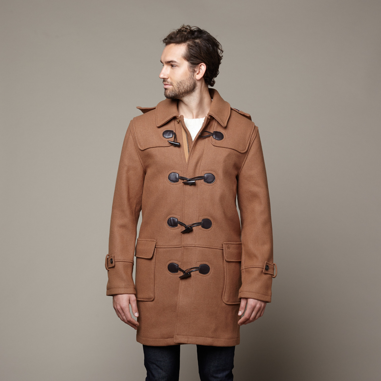 Bluefield Wool Duffle Coat // Tan (XS) - Merc - Touch of Modern