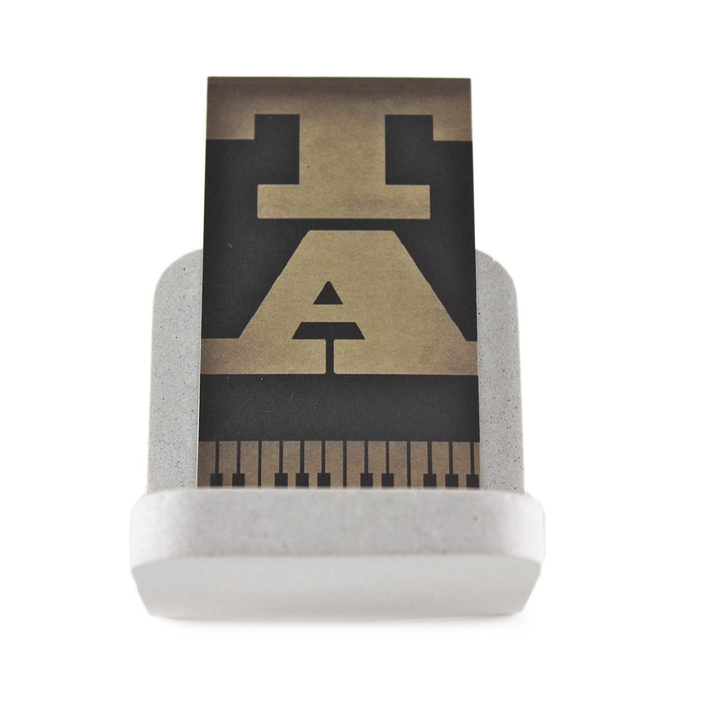 Concrete Business Card Holder (Grey) - Zeitgeist Factory - Touch of ...