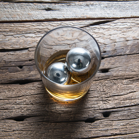 LoBall Whiskey Bollen Kleine // Set van 2