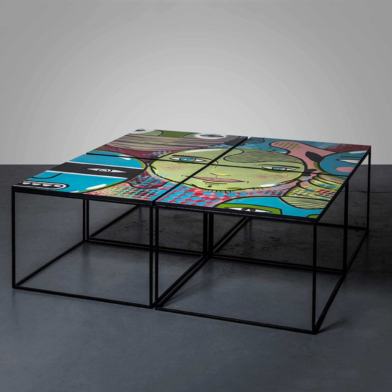 graffiti table