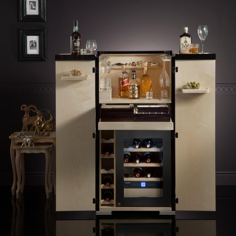 Bacco E Tabacco Ebano // Bar Armoire