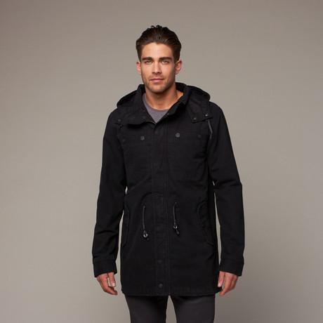 Hooligan Coat // Black