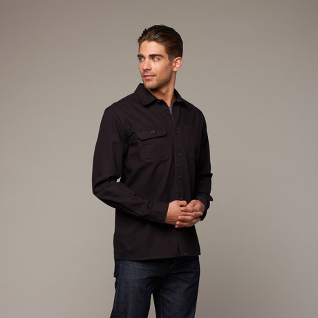Mercer Button Up // Black