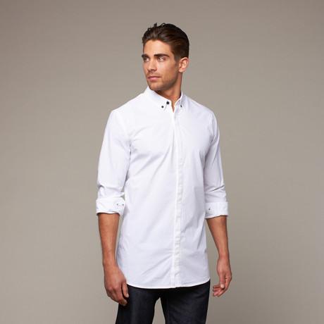 Noir Button Up // White