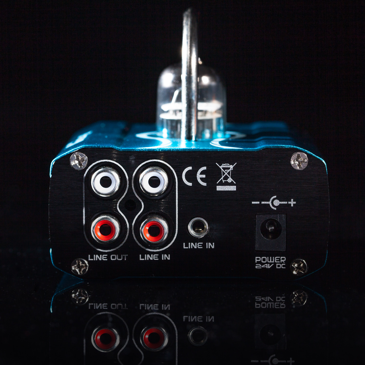 Bravo Ocean Tube Headphone Amplifier Audio Touch Of Modern Class A 12au7