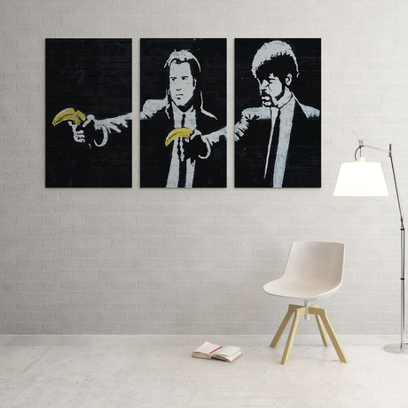 Vincent And Jules With Bananas
