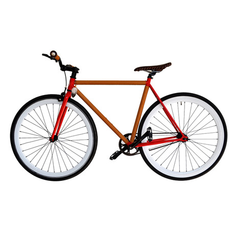 Atir Cycles // Single Speed // Matty Leather Wrapped