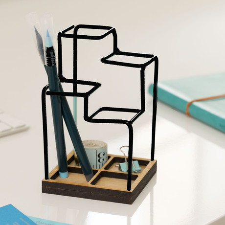 Sketch Desk Tidy (Black)