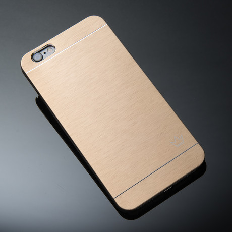 Krown Case // Slim Aluminum Case // Gold // iPhone 7